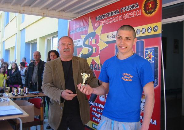 Стоян Добрев - спортист на месец февруари